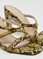 D by Divarese Klasik Ayakkabı Sarı